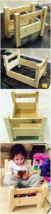 DIY Pallet Bed for Kids