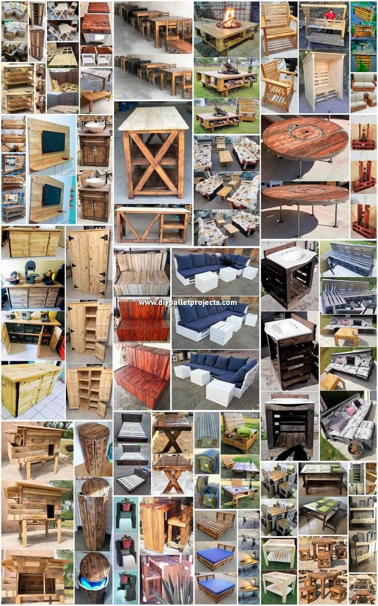 40+ Eco-friendly DIY Pallet Ideas for Your Home