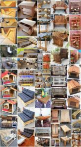 Attractive Wood Shipping Pallet DIY Projects