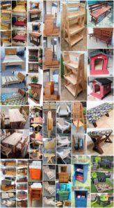 Creative Wood Shipping Pallet Projects for Home