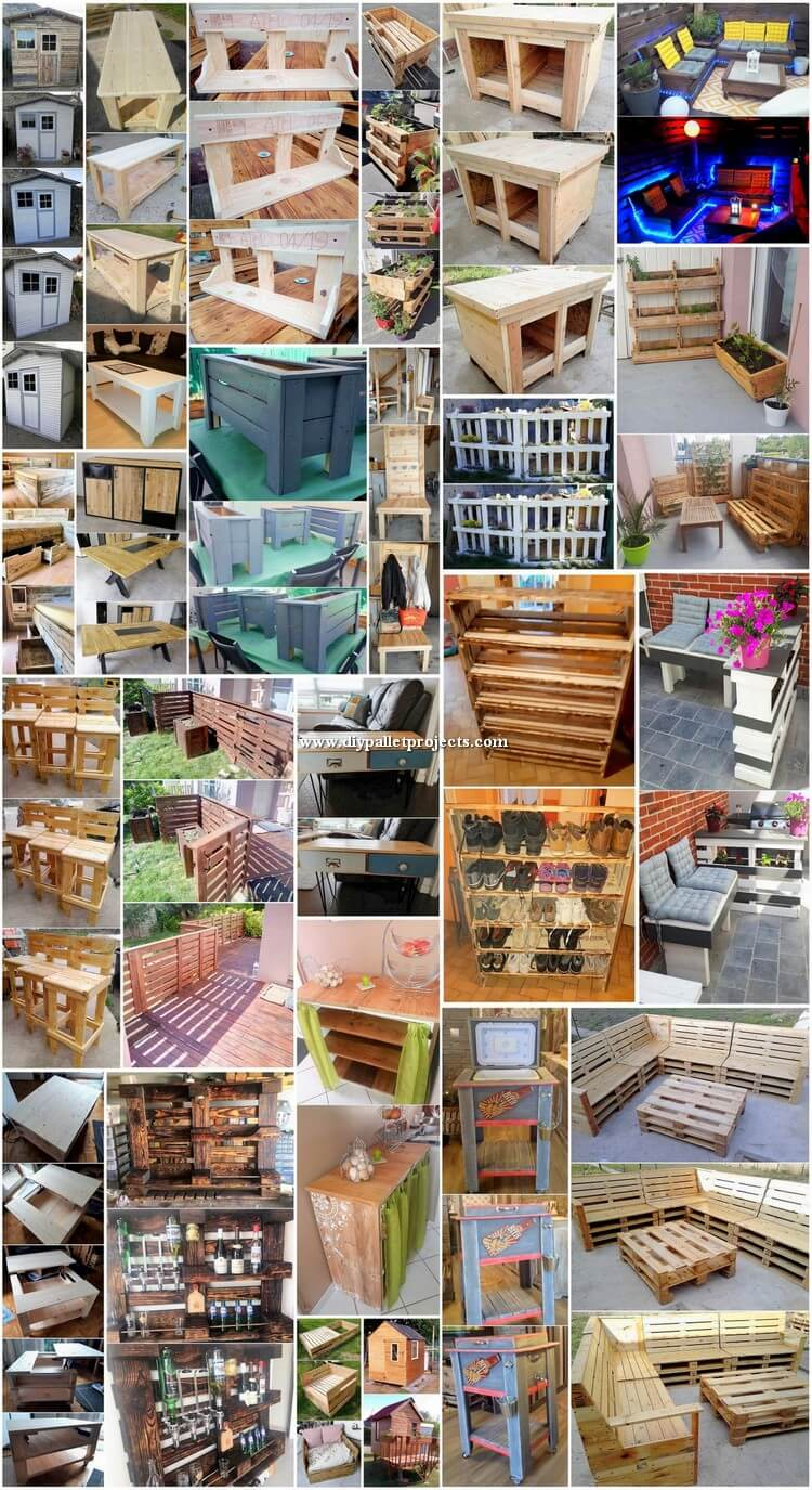 Easiest DIY Projects Made with Shipping Pallets