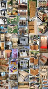 Majestic Shipping Wood Pallet DIY Projects