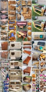 Majestic and Easy to Make DIY Shipping Pallet Projects