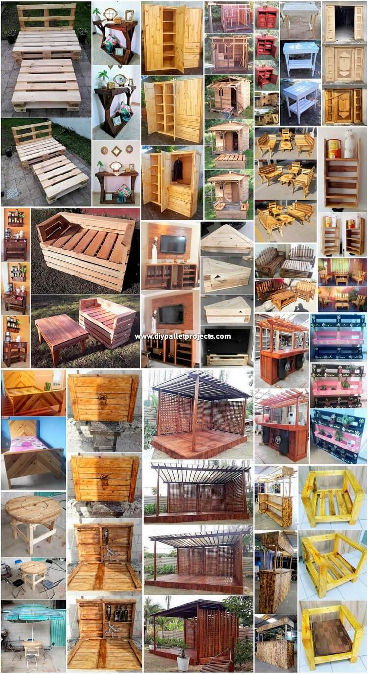 Marvelous DIY Creations with Recycled Pallets