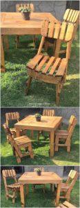 Pallet Garden Dining Furniture