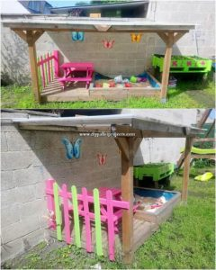 Pallet Kids Play Area