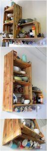 Pallet Kitchen Shelf or Rack