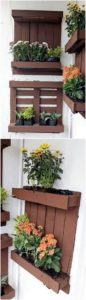 Pallet Wall Planters