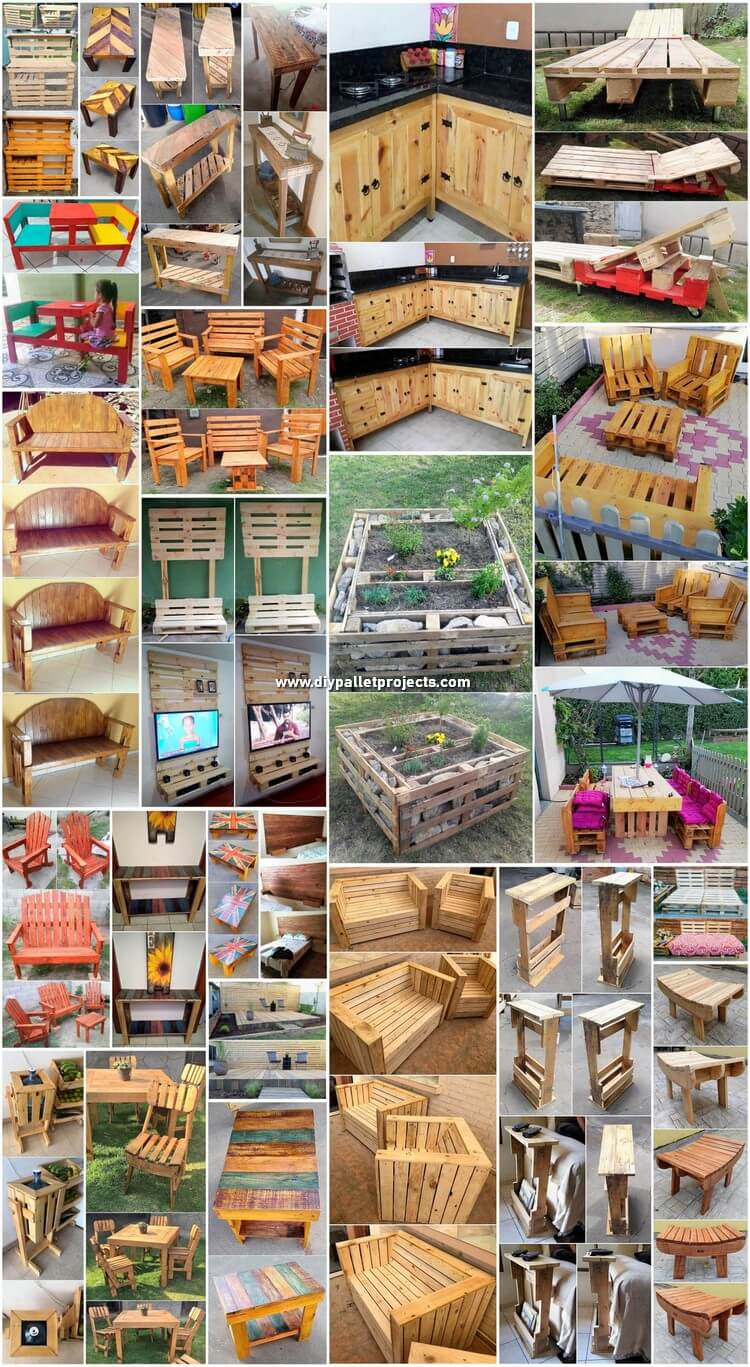 Superior Ideas You Can Make with Shipping Pallets