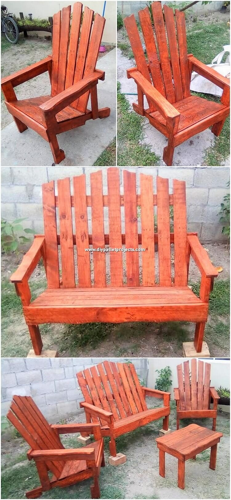 Wood Pallet Outdoor Furniture