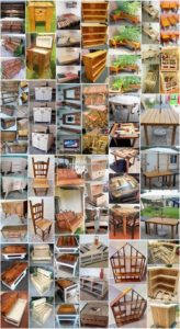 Convenient DIY Projects Made from Old Pallets