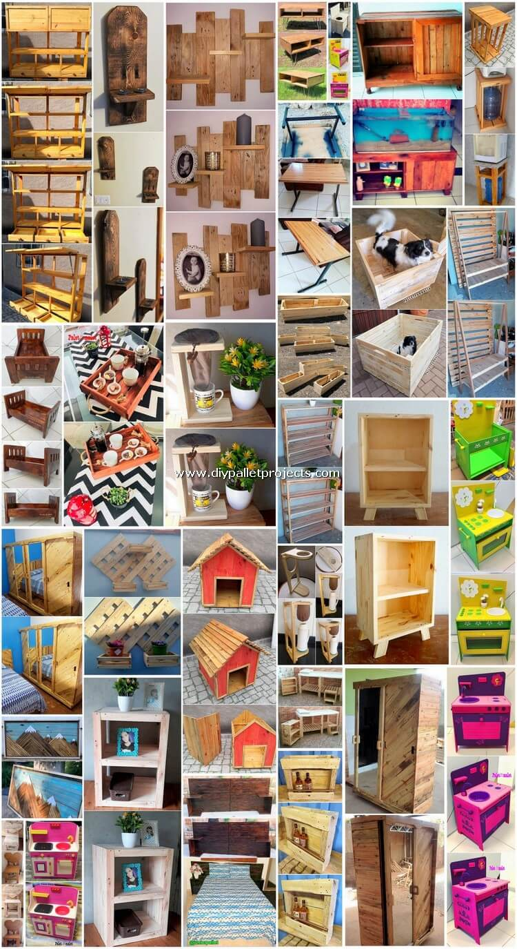 Appropriate DIY Shipping Pallet Projects and Creations