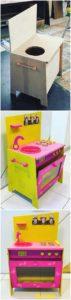 DIY Pallet Kitchen for Kids