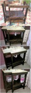 DIY Pallet Sink