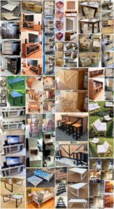 Fantastic Ideas For Old Wood Pallets Reusing