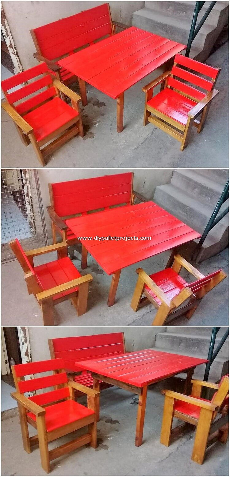 Pallet Dining Furniture for Kids