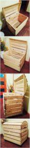 Pallet Wood Storage Box