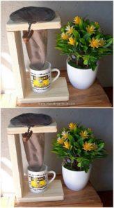 Wood Pallet Coffee Filter