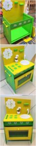 Wood Pallet Kitchen for Kids