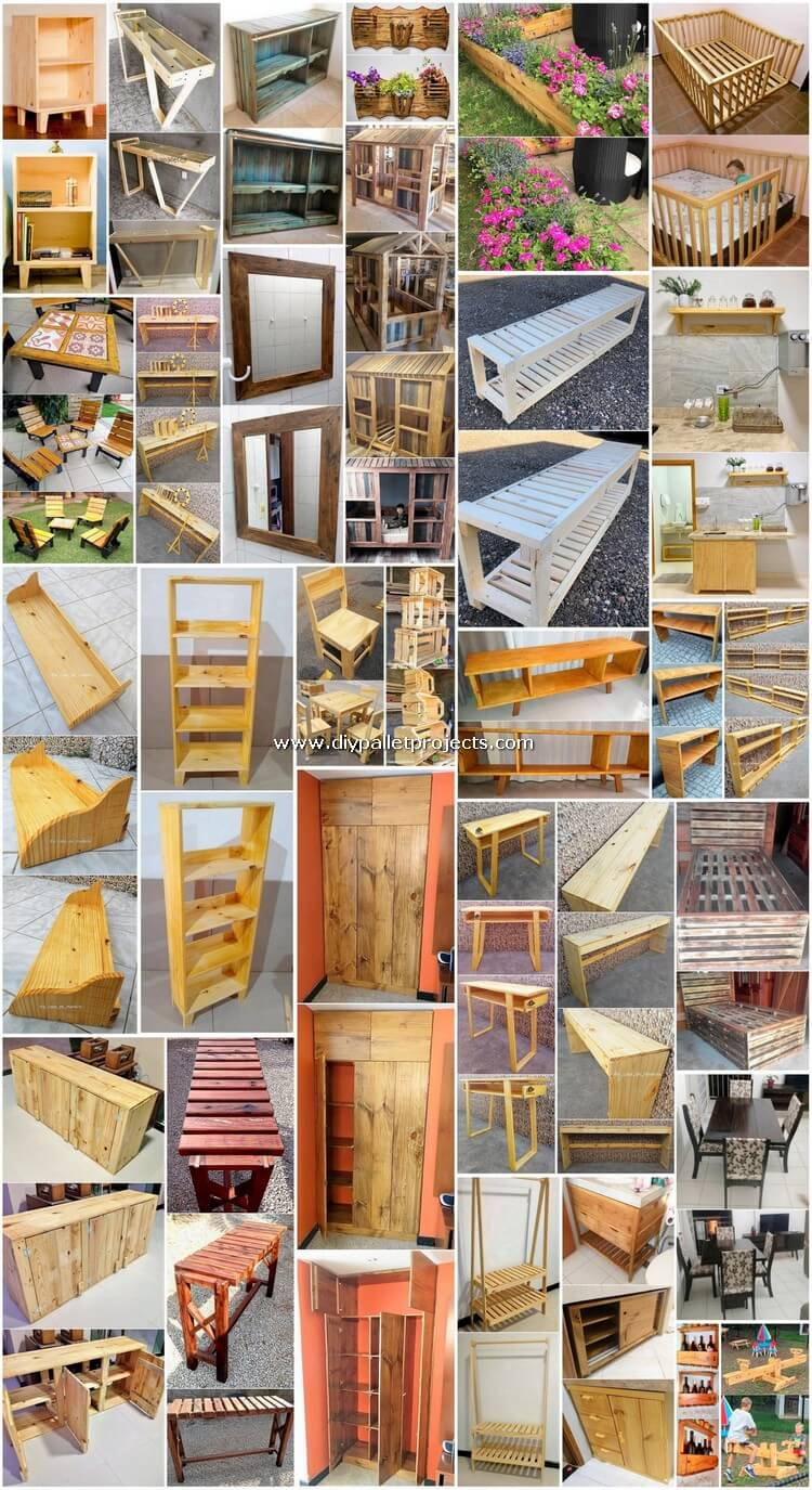 30 Creative DIY Projects Made Out of Shipping Pallets