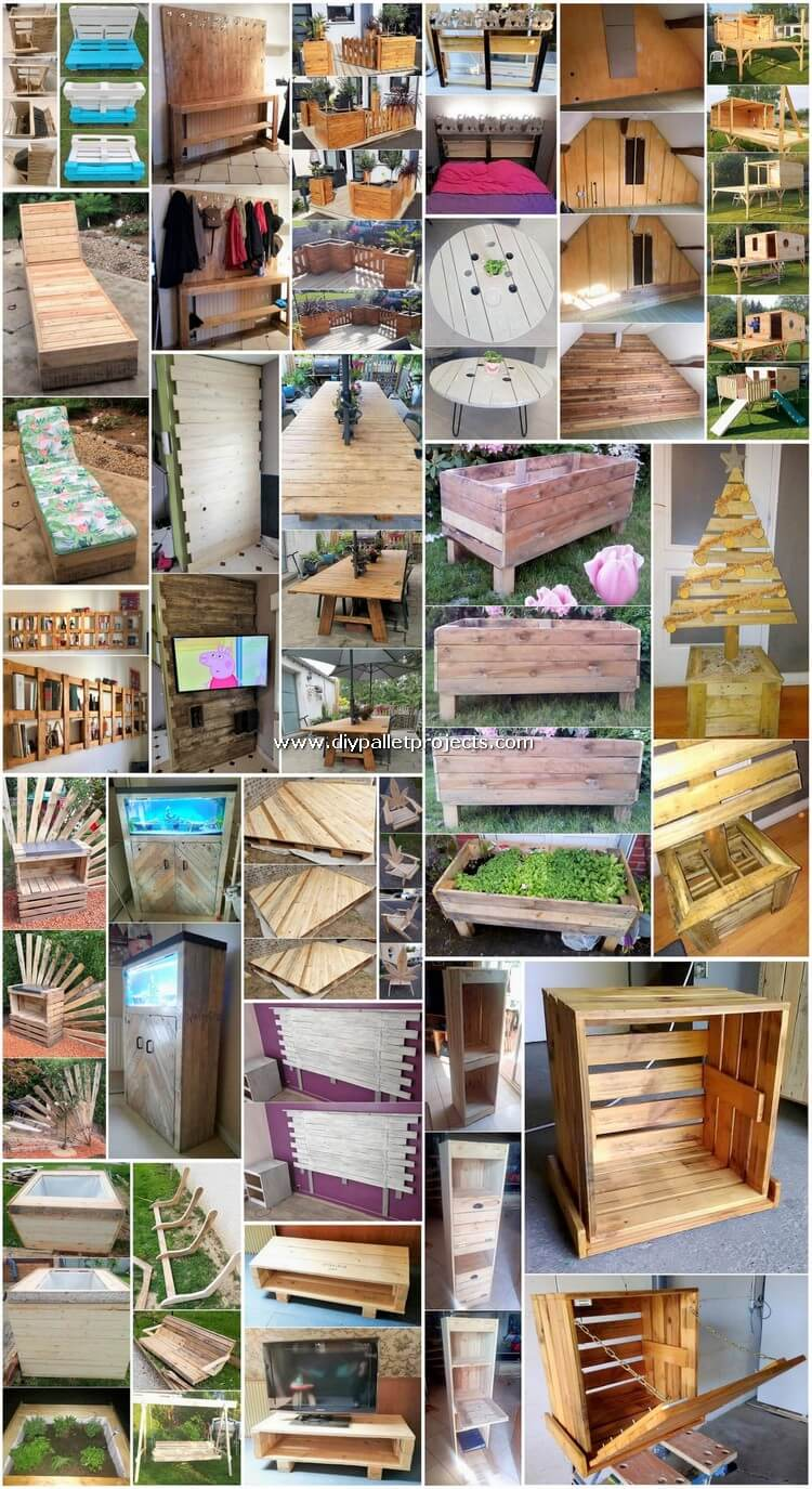 Interesting DIY Pallet Wood Projects for Home