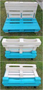 Pallet Folding Bench