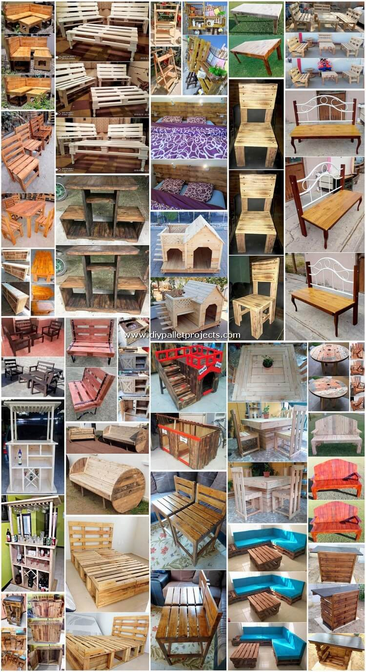 Superb DIY Projects Made from Old Pallets