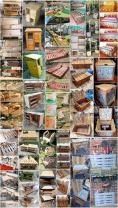 Appealing DIY Furniture Designs Made Out of Pallets