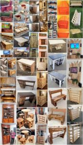 Clever DIY Wood Pallet Reusing Projects
