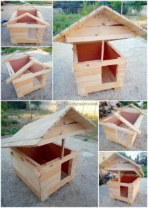 DIY Pallet Pet House