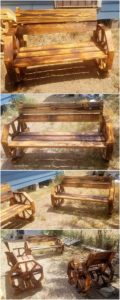 Pallet Benches