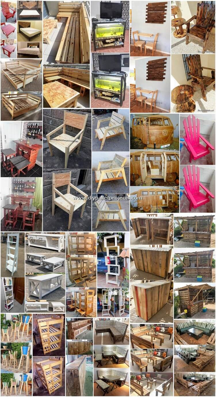 Enchanting Ideas for Shipping Pallet Recycling