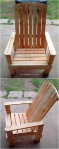 Pallet Wood Chair