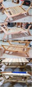 Wood Pallet DIY Table
